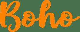 Boho footer logo